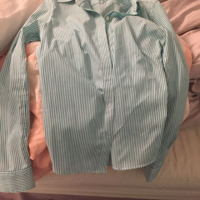 Banana republic dress shirt size 0