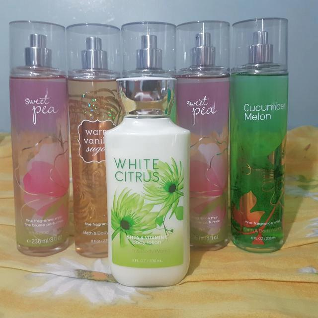 Bath And Body Works Cologne, Lotion, Body Cream, Hand Wash - All Authentic
