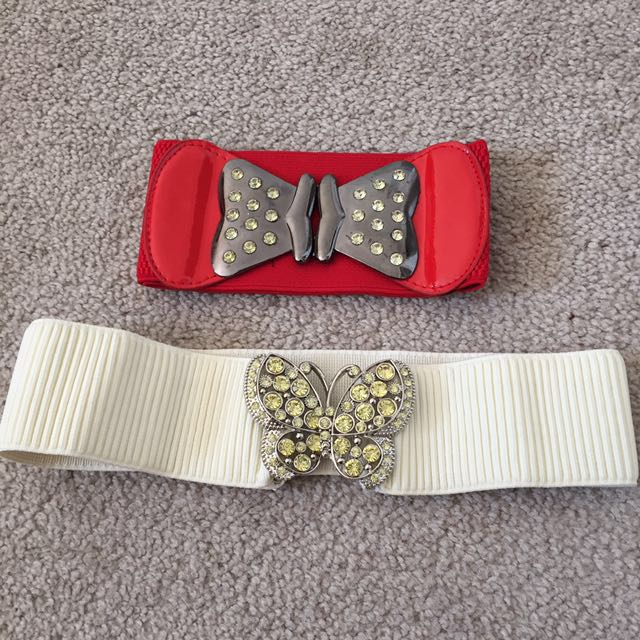 Belts with elements