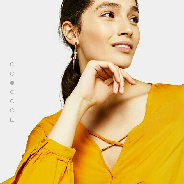 Bershka - Blouse With Crossover Neckline