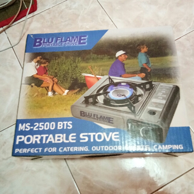 Blu flame portable burner
