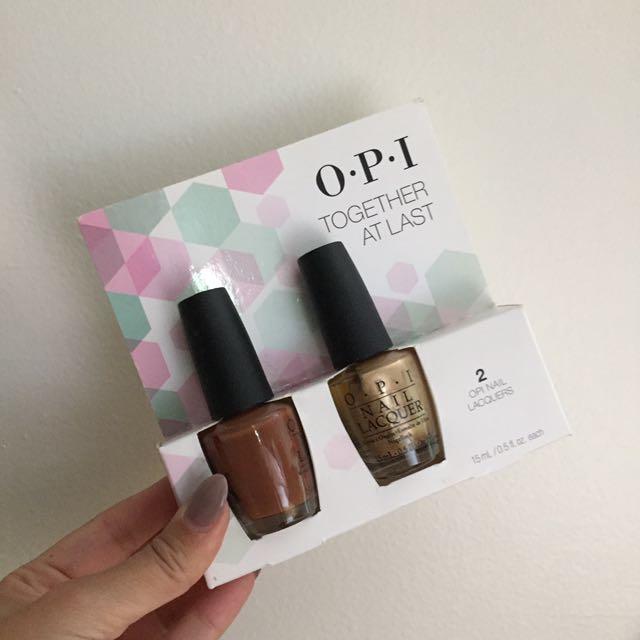 ❗️BNWT - OPI Nail Polish Duo