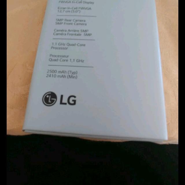 BRAND NEW LG K4!!