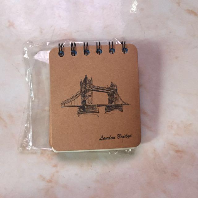 Brand New Mini Notepad