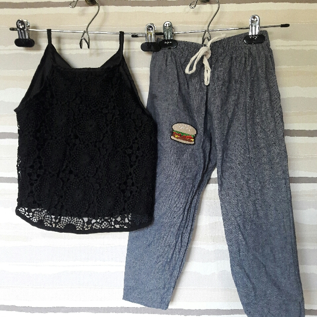 cami top + pants