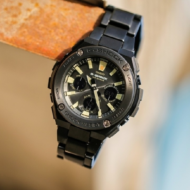 9b5d5ef92 Casio G-Shock G-Steel GST-S130BD-1A, Men's Fashion, Watches on Carousell