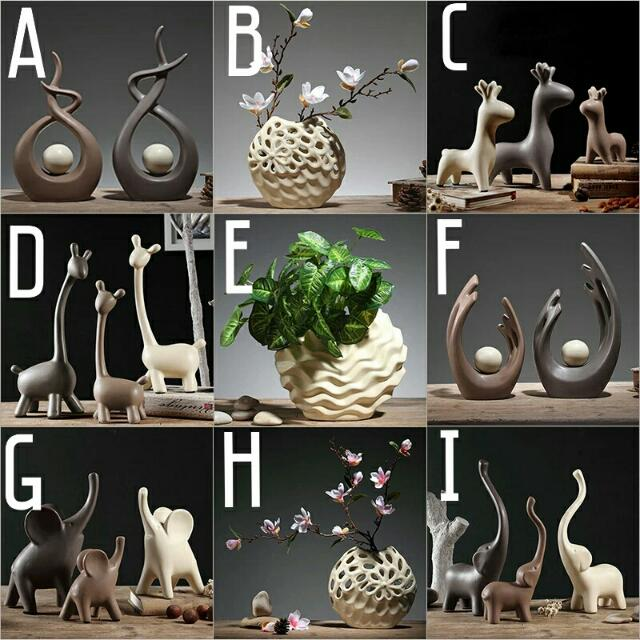 Ceramic Figurines Decorative Items Gifts