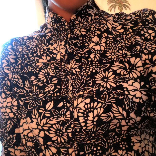 Chinese pattern cotton top/jacket