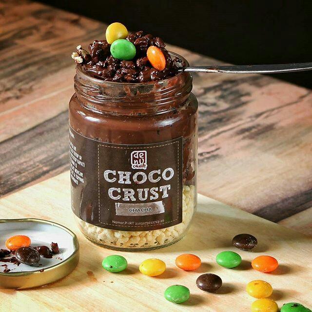 Choco Crust Cha Cha By Denu Cokelat Makanan Minuman Snek Di Carousell