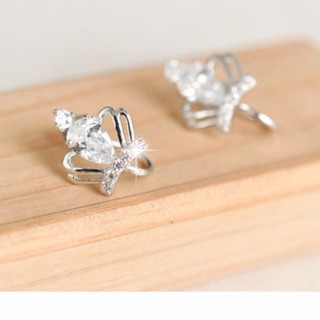 Crown Earrings [925 Silver] #BlackFridaySale