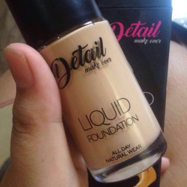 DETAIL make over LIQUID FOUNDATION all day