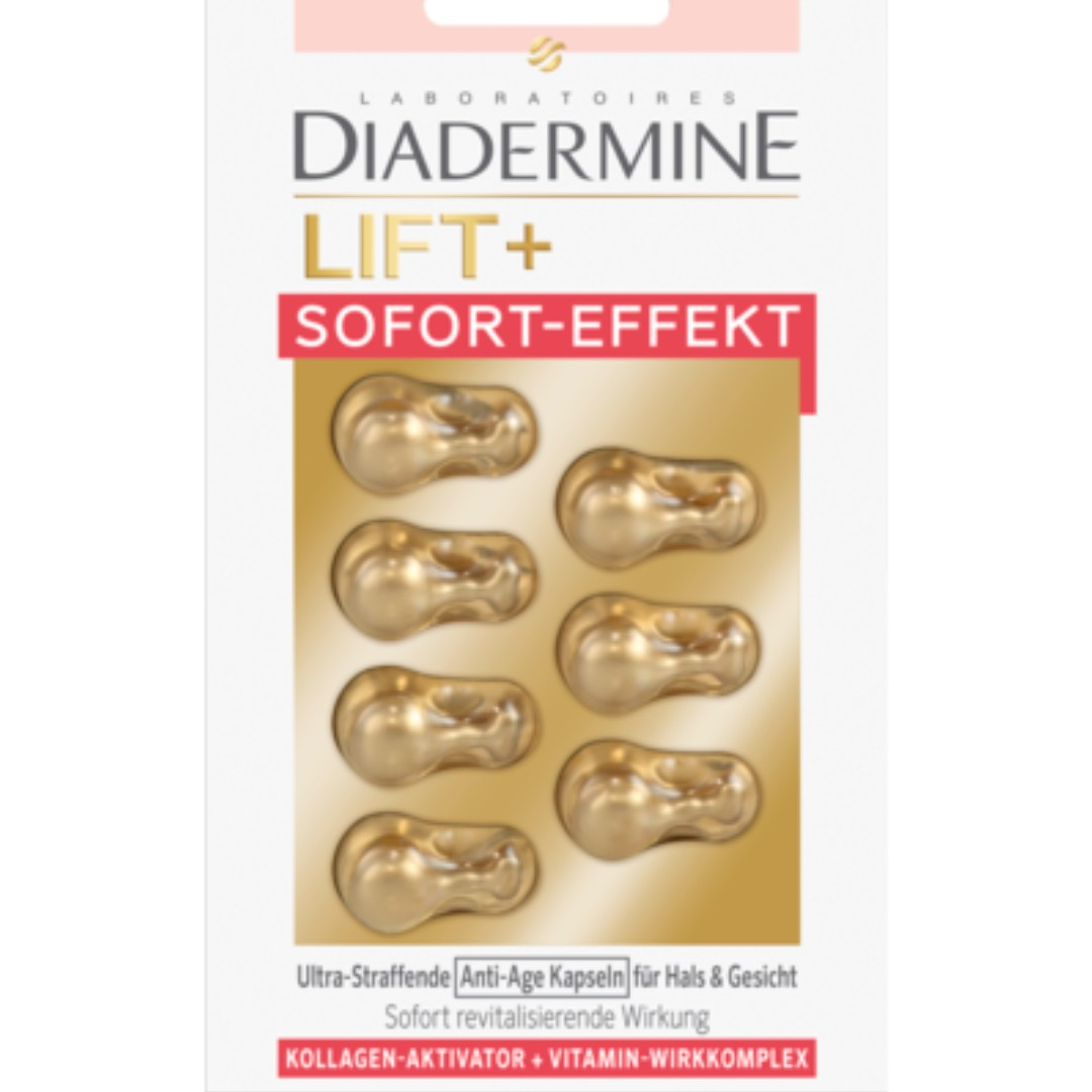 Diadermine Concentrate Lift + Instant Effect Capsules
