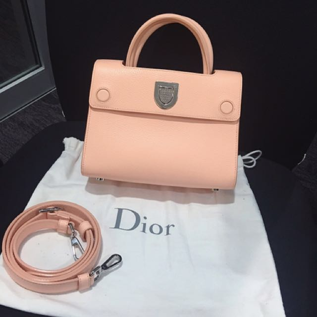 Diorever Mini Peach Pink