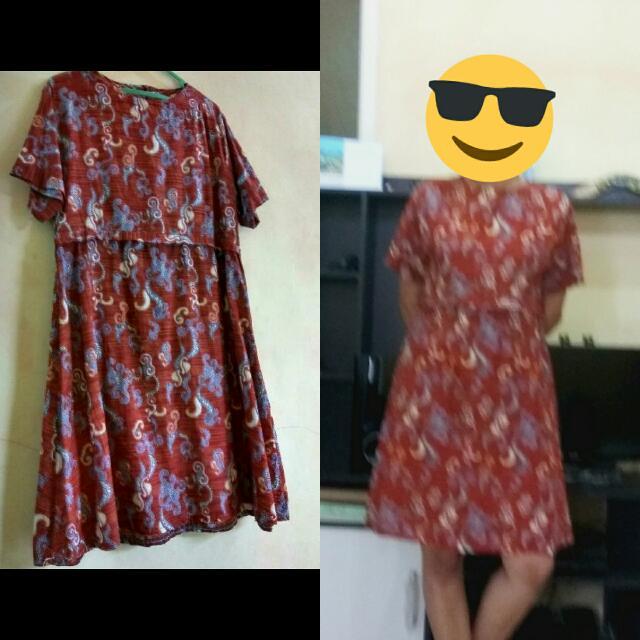 Dress Batik Allsize