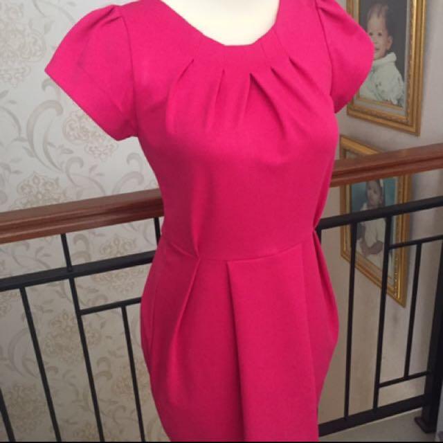 Dress Pesta Pink