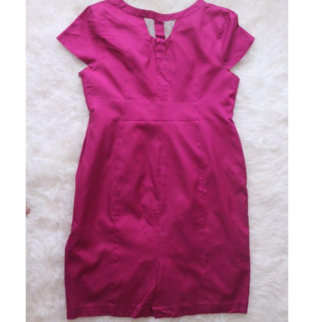 Dress Ungu L