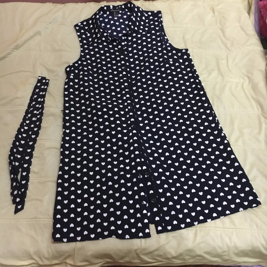 Forever 21 Dress Heart Design