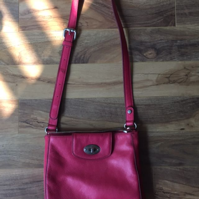Fossil Leather Cross-body