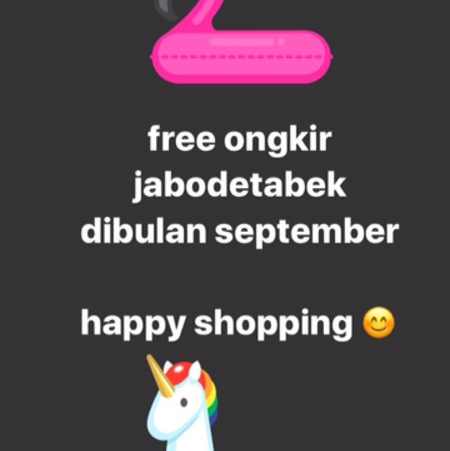 free ongkir jabodetabek september