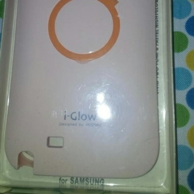 -glow in d dark cellphone case(samsung Duo)