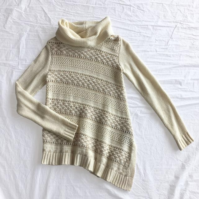 Guess A-Symmetrical Turtleneck Sweater
