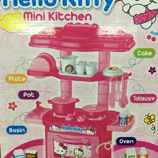 Kitchen Set Toys R Us: Hello Kitty Mini Kitchen Set, Toys & Games, Toys On Carousell