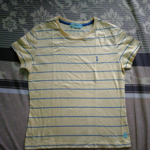 Herbench Yellow Striped Shirt