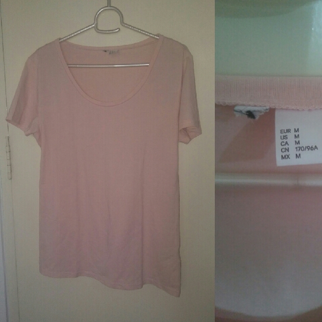 H&M Blush Pink Blouse