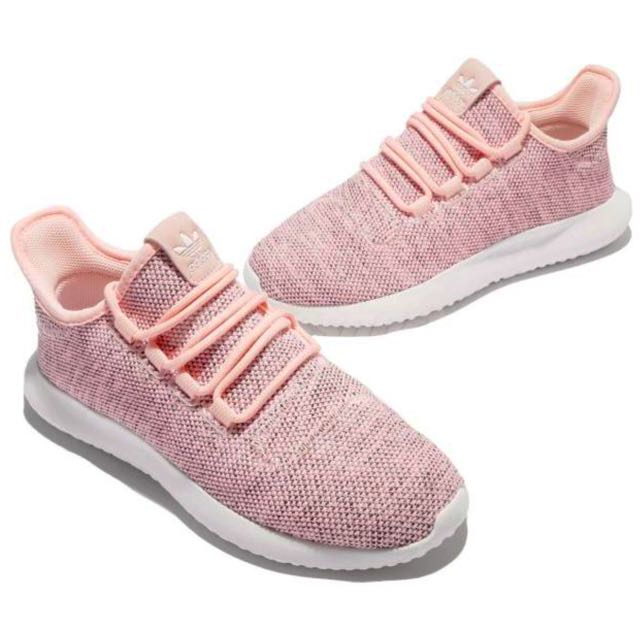 1ae351d6609d INSTOCK Ø Original Adidas Tubular Shadow Knit Women s Pink White ...
