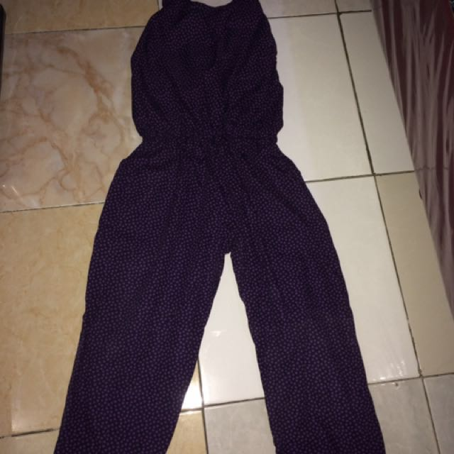 Jumpsuit Purple Love