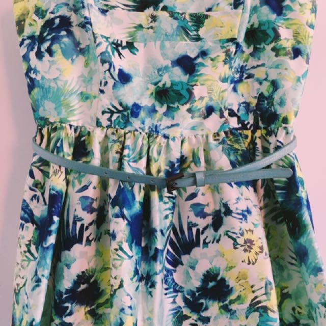 Jungle Floral Dress