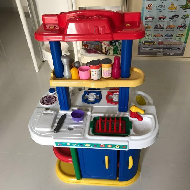 just like home giant kitchen center babies kids toys walkers on carousell. Black Bedroom Furniture Sets. Home Design Ideas