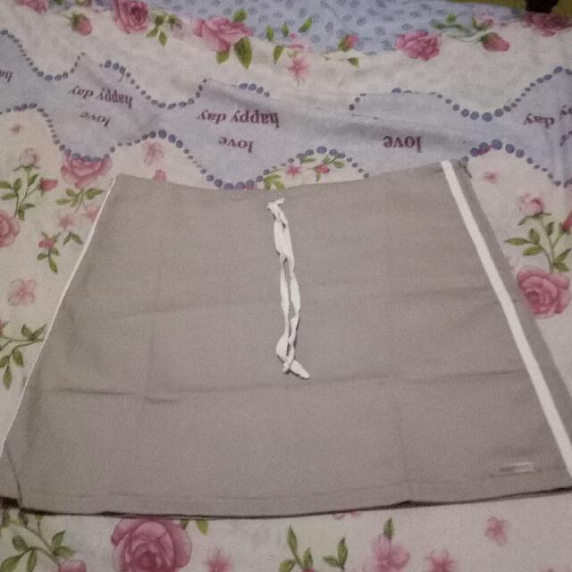 Khaki mini/sports skirt