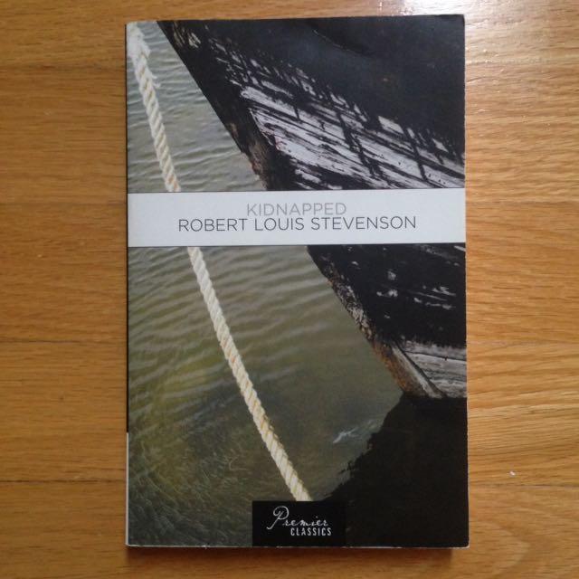 Kidnapped by Robert Louis Stevenson Book/Novel