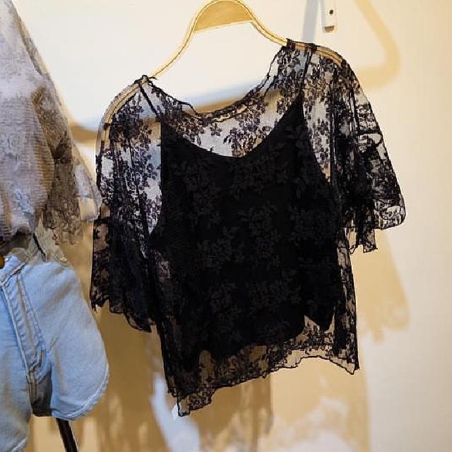 lace set top