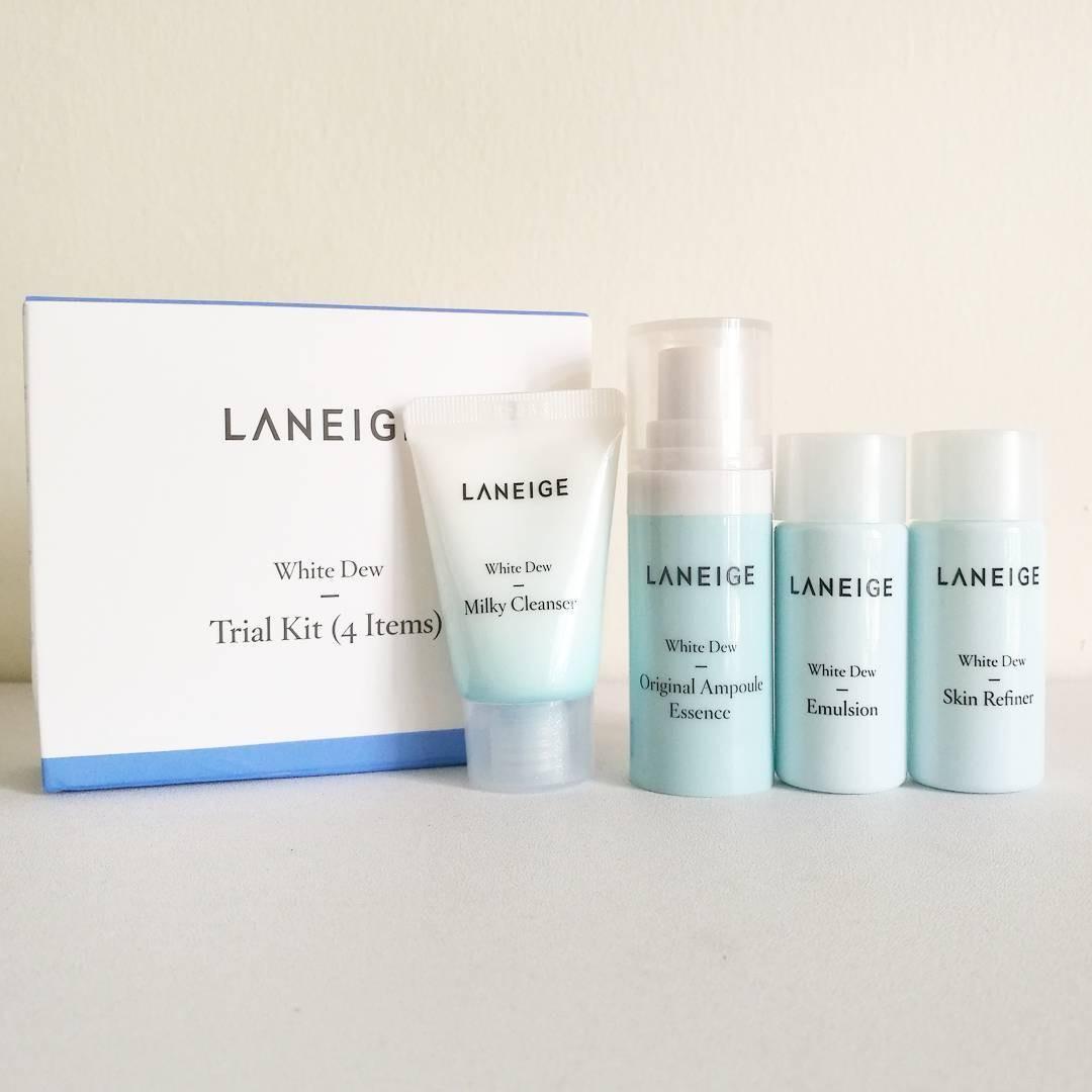 Laneige - White Dew Trial Kit