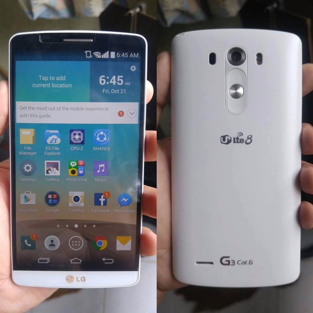 Lg G3 Cat6 32gb 3gb Ram 4g Lte F460 Openline Aka Prime Mobile G5 Se Smartphone Gold 32 Gb 3 Phones Tablets Android On Carousell