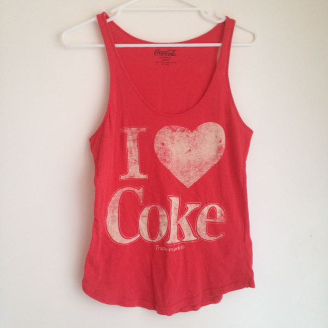 Licensed Coke Tank by Cotton On