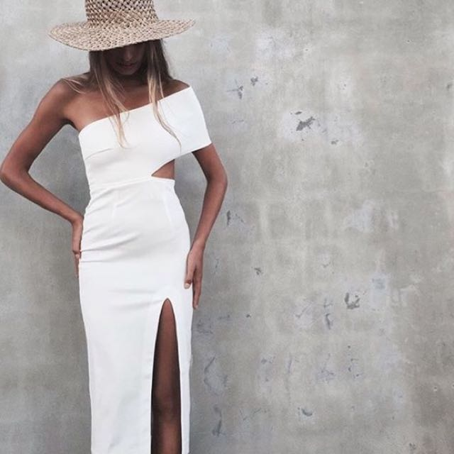 Maurie & Eve Genesis Dress in White