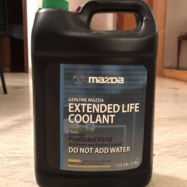 Mazda Extended Life Coolant FL22, Car Accessories on Carousell
