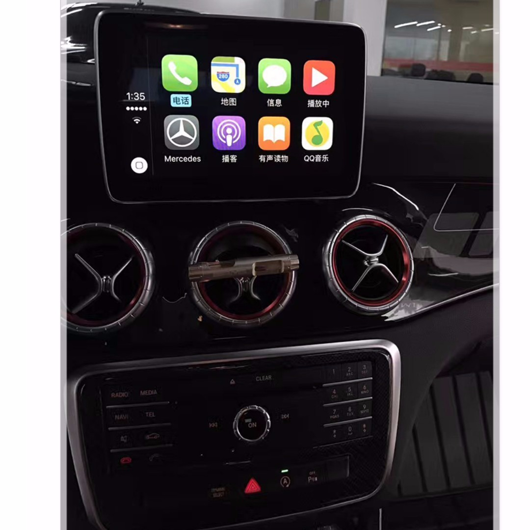 Mercedes NTG5 1 CARPLAY, ANDROID AUTO, VIM, ECO ACTIVATION
