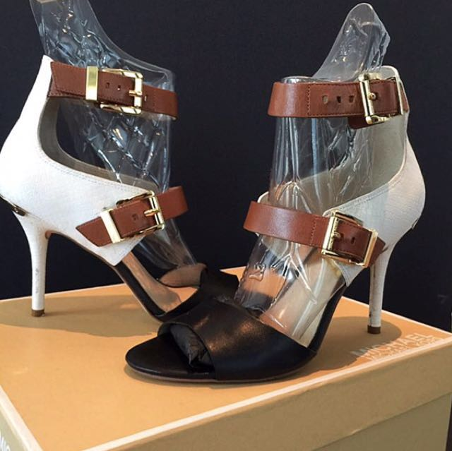 Michael Kors Ankle Strap High Heels Rush Sale Authentic!