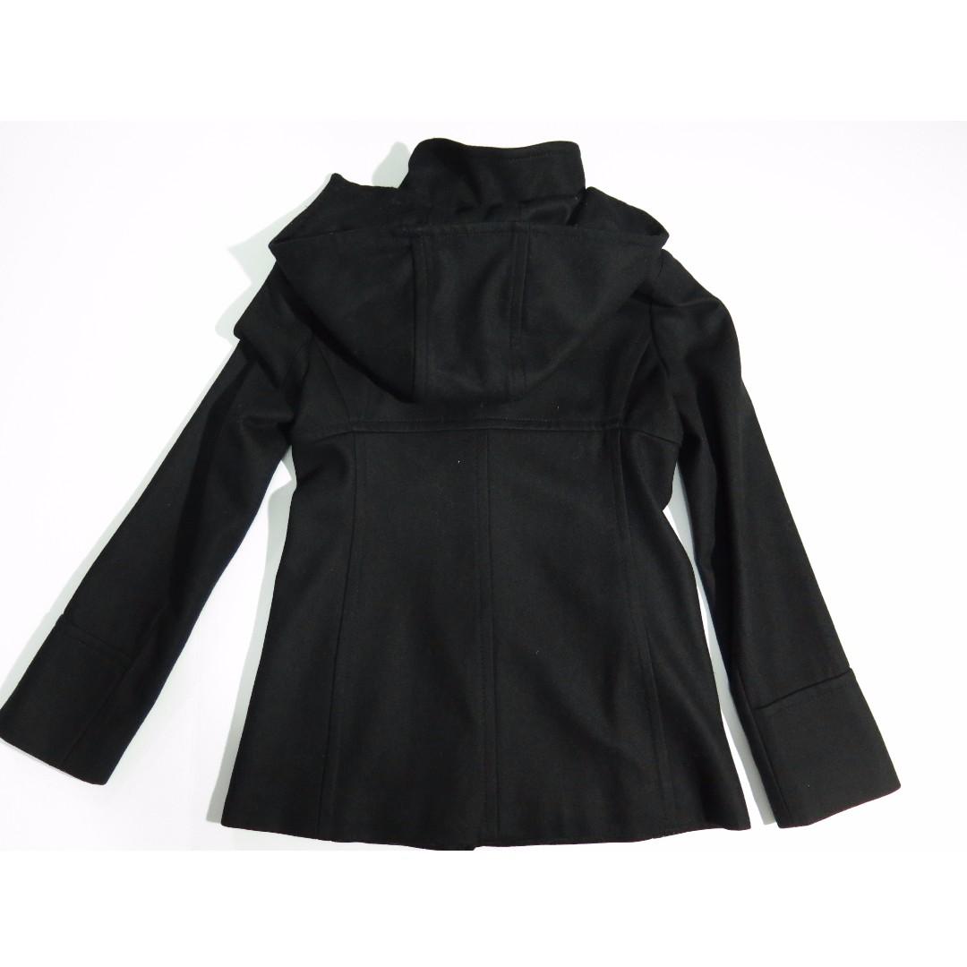 Michael Kors Black Toggle Pea Coat Sz XS