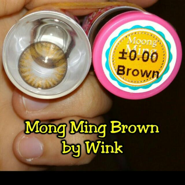Mong ming brown by wink