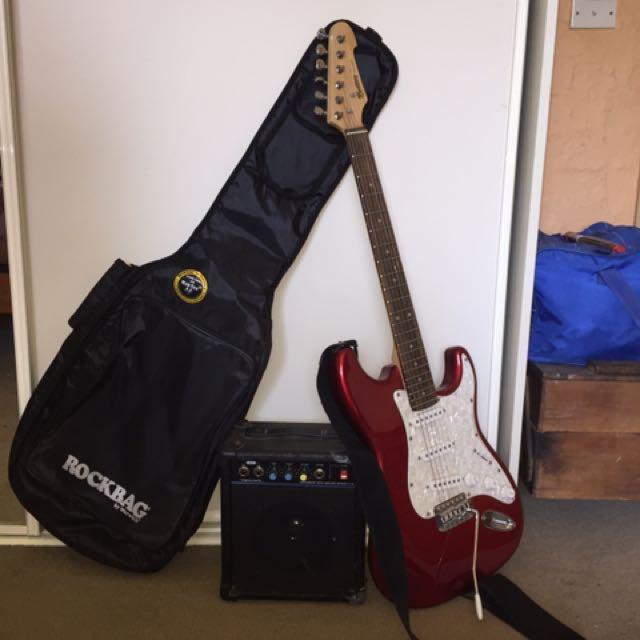 Monterey Stage Series Electric Guitar bundle