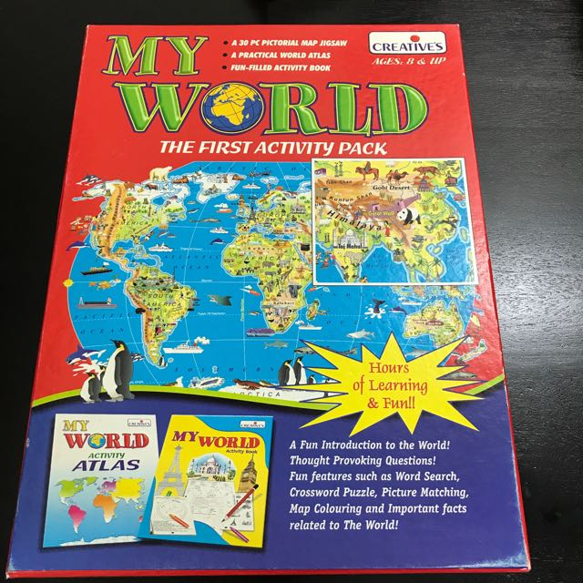 My world activity book by creatives books stationery childrens photo photo gumiabroncs Images