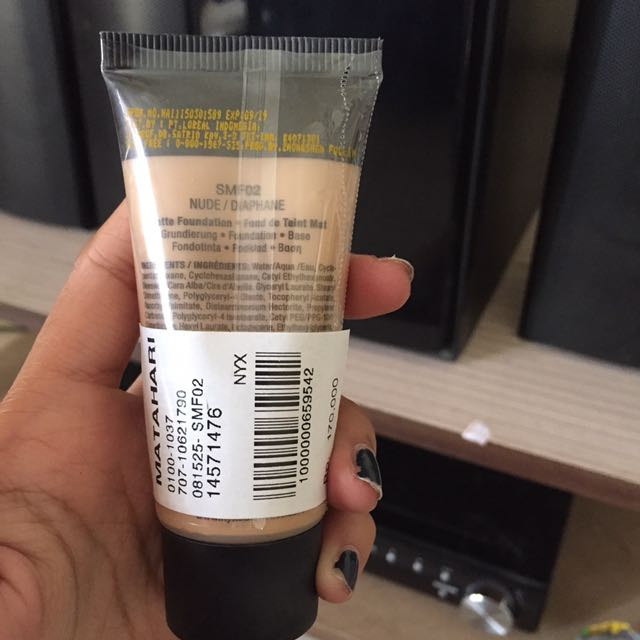 NYX Stay Matte Foundation - Shade Nude / Diaphane