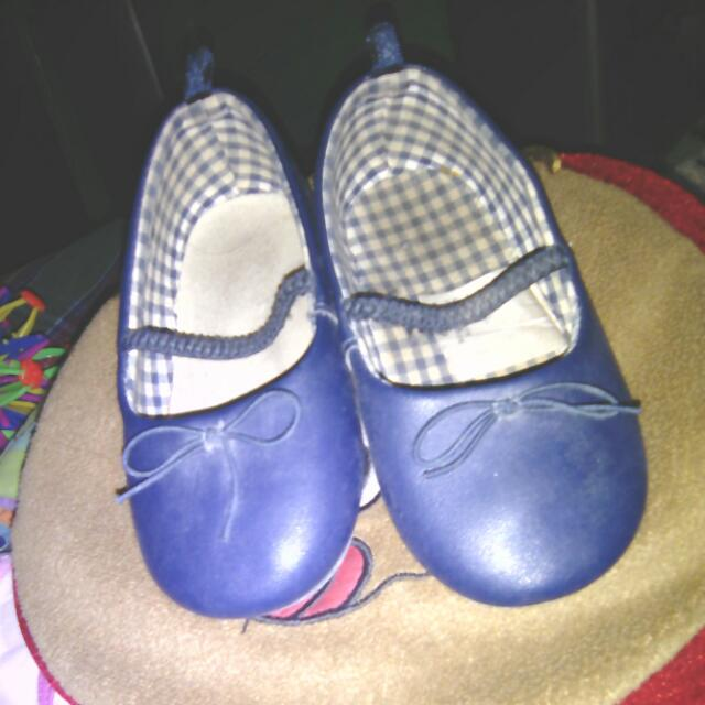 Free Delivery : Original H&M Blue Baby Shoes