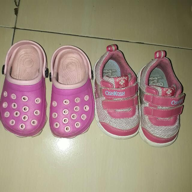 Oshkosh + Sandal Pink