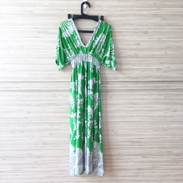 PL Green Maxi Dress